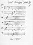 Giant Steps Chord Exploration #1 p.1 001
